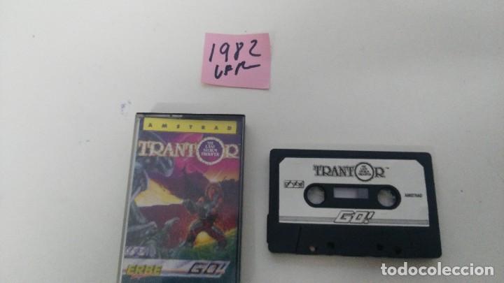 JUEGO PARA AMSTRAD TRANTOR (Juguetes - Videojuegos y Consolas - Amstrad)