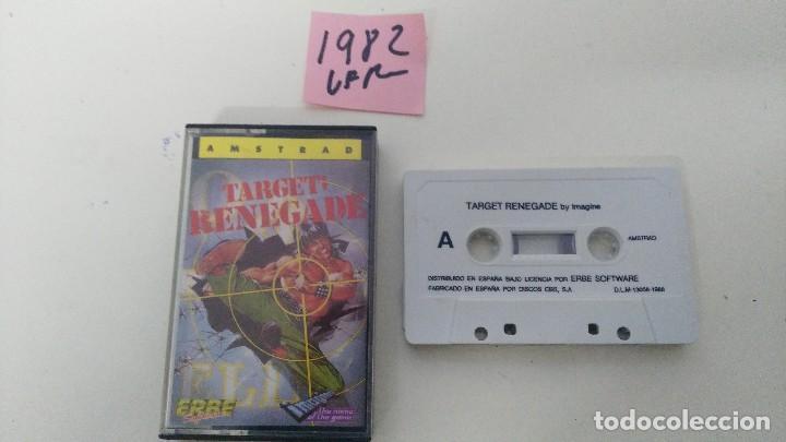 JUEGO PARA AMSTRAD TARGET RENEGADE (Juguetes - Videojuegos y Consolas - Amstrad)