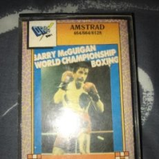 Videojuegos y Consolas: ANTIGUO JUEGO AMSTRAD BARRY MCGUIGAN WORLD CHAMPIONSHIP BOXING MASTERTRONIC DROSOFT. Lote 122575015
