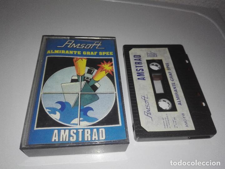 JUEGO AMSTRAD ALMIRANTE GRAF SPEE (Juguetes - Videojuegos y Consolas - Amstrad)