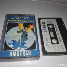 Videojuegos y Consolas: JUEGO AMSTRAD ALMIRANTE GRAF SPEE. Lote 122778355