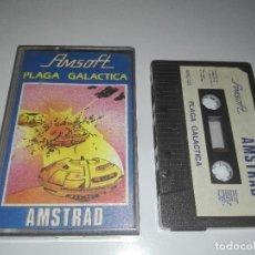 Videojuegos y Consolas: JUEGO AMSTRAD PLAGA GALACTICA. Lote 122778543