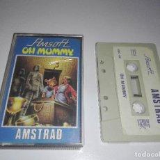 Videojuegos y Consolas: JUEGO AMSTRAD OH MUMMY. Lote 122778915