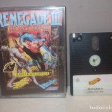 Videojuegos y Consolas: RARO JUEGO RENEGADE III AMSTRAD DISCO EN MUY BUEN ESTADO,BARATO. Lote 123071575