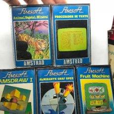 Videojuegos y Consolas: LOTE JUEGOS AMSTRAD CPC 464 . Lote 148610772