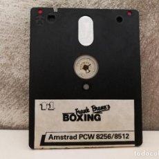 Videojuegos y Consolas: FRANK BRUNO BOXING AMSTRAD SOLO DISQUETE . Lote 125160915