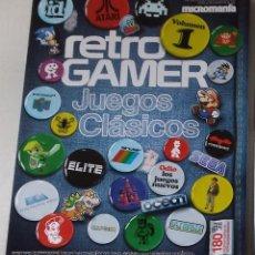 Videojuegos y Consolas: LOTE DOS REVISTAS RETROGAMER EXCELENTE ESTADO. Lote 125166823