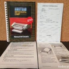 Videojuegos y Consolas: MANUAL USUARIO IMPRESORA AMSTRAD DMP 3000. Lote 127154939