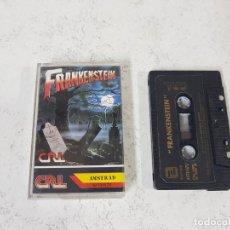 Videojuegos y Consolas: JUEGO AMSTRAD FRANKENSTEIN-COMPLETO CON INSTRUCCIONES EN INTERIOR. Lote 128647139