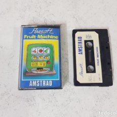Videojuegos y Consolas: JUEGO AMSTRAD FRUIT MACHINE-COMPLETO CON INSTRUCCIONES EN INTERIOR. Lote 128647563