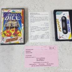 Videojuegos y Consolas: JUEGO AMSTRAD DIZZY DICE-COMPLETO CON INSTRUCCIONES. Lote 128647827