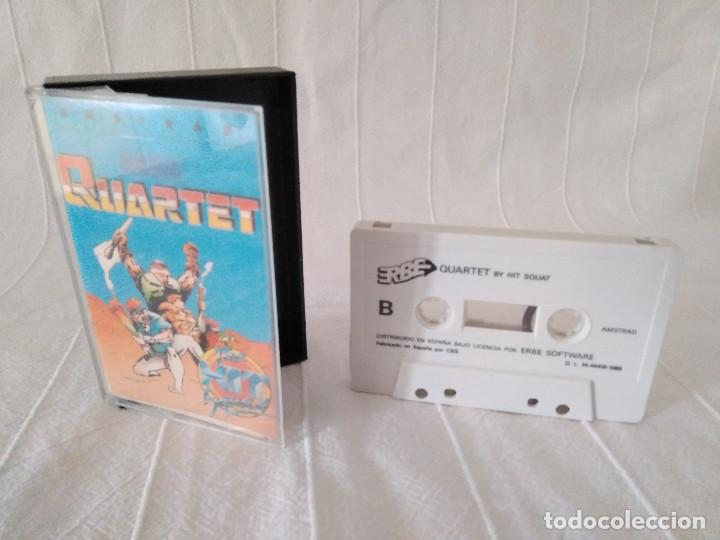 Videojuegos y Consolas: JUEGO - QUARTET The Hit Squad - SEGA - AMSTRAD CPC464 CPC 464 - Foto 3 - 128778575