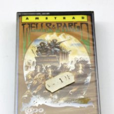 Videojogos e Consolas: AMSTRAD - WELLS & FARGO - TOPO SOFT - 1988 - NUEVO Y PRECINTADO. Lote 178564623