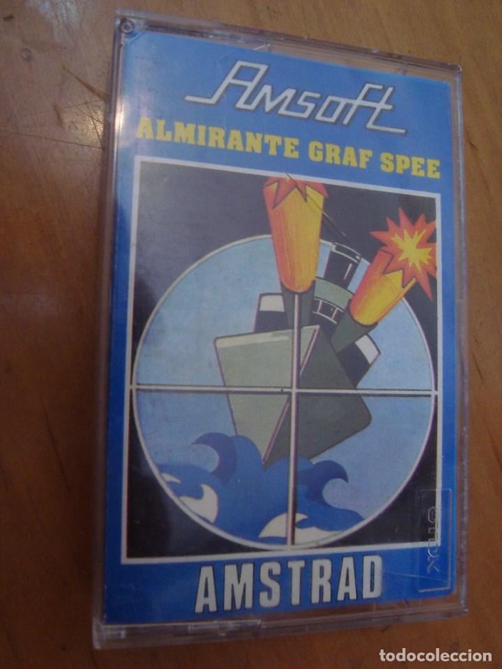 JUEGO CINTA AMSTRAD ALMIRANTE GRAF SPEE - AMSOFT (Juguetes - Videojuegos y Consolas - Amstrad)