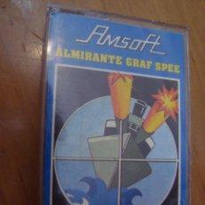 Videojuegos y Consolas: JUEGO CINTA AMSTRAD ALMIRANTE GRAF SPEE - AMSOFT. Lote 129097291
