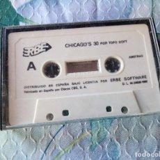 Videojuegos y Consolas: PACK ERBE 88 - AMSTRAD CPC - CASSETE - CHICAGO'S 30 - TITANIC - PSYCHO PIG - COLISEUM. Lote 129264291