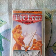 Videojuegos y Consolas: THE FEAR STORM II - AMSTRAD CPC 464,M,A,DMASTERTRONIC ADDED DIMENSION. Lote 129265127
