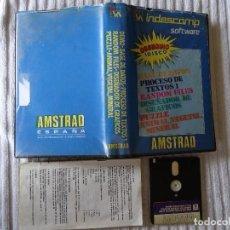 Videojuegos y Consolas: JUEGO PARA AMSTRAD DISK - INDESCOMP BASE DATOS PUZZLE ANIMAL VEGEAL MINERAL GRAFICOS RANDOM FI DISCO. Lote 130109523