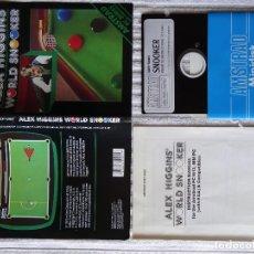 Videojuegos y Consolas: JUEGO PARA PC IBM 5 1/4 5,25 - AMSTRAD GOLD ALEX HIGGINS SNOOKER DISCO PC1512/IBM PC AMSTRAD. Lote 130109739