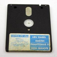 Videojuegos y Consolas: AMSTRAD CPC - DISCO - EXITOS DINAMIC - 8 JUEGOS - PHANTOMAS II - ABU SIMBEL - ARMY MOVES .... Lote 162656721