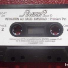 Videojuegos y Consolas: JUEGO CASETE CASETTE ORIGINAL AMSTRAD PROGRAMA INICIACION AL BASIC 1985 EN FRANCES. Lote 130848540