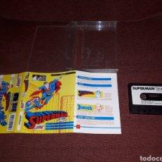 Videojuegos y Consolas: SUPERMAN THE GAME PARA AMSTRAD EDICION CAJA GRANDE. Lote 130932469