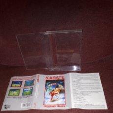 Videojuegos y Consolas: KARATE ENDURANCE PARA AMSTRAD EDICION CAJA GRANDE. Lote 130934305