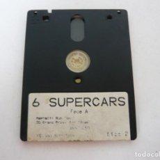 Videojuegos y Consolas: 6 SUPERCARS - JUEGO AMSTRAD CPC 6128 - RETRO - VINTAGE - DISCO - DISKETTE. Lote 131152388