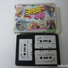 Videojuegos y Consolas: PACK ERBE 88 - JUEGO AMSTRAD CPC 464 - RETRO - VINTAGE - CASSETTE. Lote 131152720