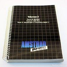 Videojuegos y Consolas: LIBRO AMSTRAD PC1512 - VOLUMEN 2 - MS-DOS, DOS PLUS, LOCOMOTIVE BASIC 2. Lote 131819010