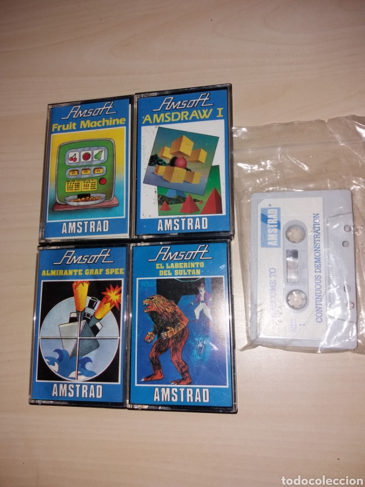 LOTE DE JUEGOS PARA AMSTRAD (Juguetes - Videojuegos y Consolas - Amstrad)