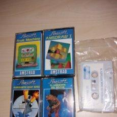 Videojuegos y Consolas: LOTE DE JUEGOS PARA AMSTRAD. Lote 131982943