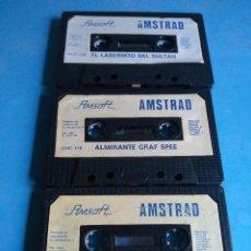 Videojuegos y Consolas: JUEGOS AMSTRAD AMSOFT , AÑOS 80. Lote 132533586