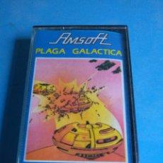 Videojuegos y Consolas: JUEGO AMSTRAD PLAGA GALÁCTICA AÑO 1985. Lote 132536393