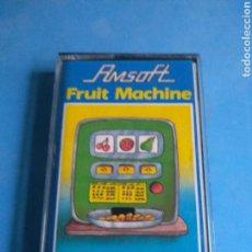 Videojuegos y Consolas: JUEGO AMSTRAD FRUIT MACHINE AÑO 1985. Lote 132536939