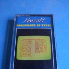Videojuegos y Consolas: JUEGO AMSTRAD PROCESADOR DR TEXTO AÑO 1985. Lote 132537325