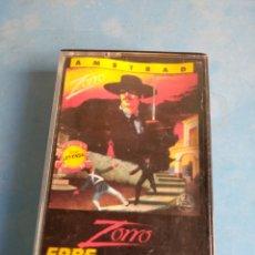 Videojuegos y Consolas: JUEGO AMSTRAD, ZORRO AÑO 1985. Lote 132548866