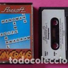 Videojuegos y Consolas: JUEGO CASSETTE AMSTRAD CPC-AMSOFT *XANAGRAMS HANGMAN* PRIMERA EDICIÓN 1984.. Lote 133066890