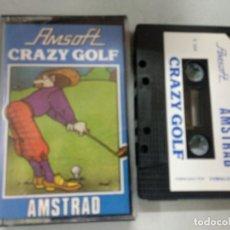 Videojogos e Consolas: CRAZY GOLF AMSTRAD CPC AMSOFT. Lote 133142954
