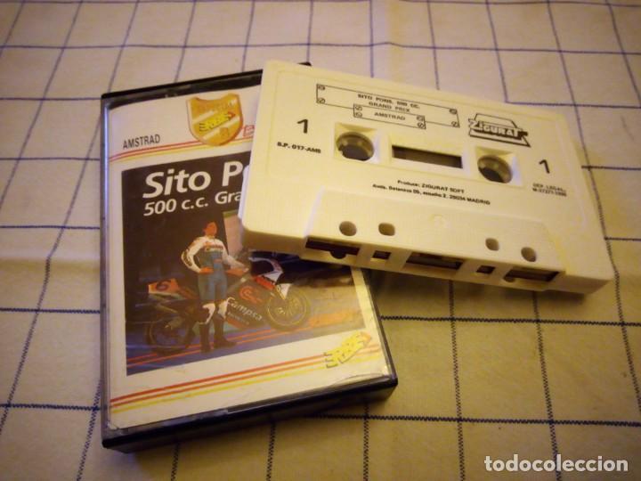 JUEGO SITO PONS 500 C.C GRAN PRIX.AMSTRAD CASSETTE (Juguetes - Videojuegos y Consolas - Amstrad)