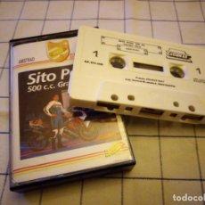 Videojuegos y Consolas: JUEGO SITO PONS 500 C.C GRAN PRIX.AMSTRAD CASSETTE. Lote 133697678