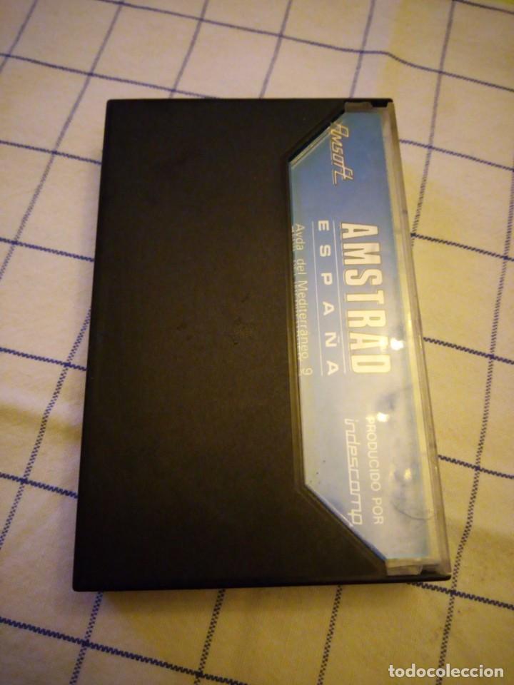Videojuegos y Consolas: Juego plaga galáctica.amstrad cassette. - Foto 3 - 133698174