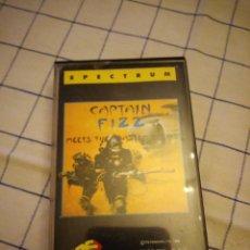 Videojuegos y Consolas: JUEGO CAPITÁN FIZZ. SEPCTRUM.AMSTRAD CASSETTE. . Lote 133707706