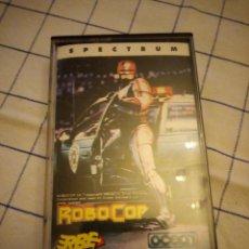 Videojuegos y Consolas: JUEGO ROBOCOP SEPCTRUM. AMSTRAD CASSETTE.. Lote 133713494