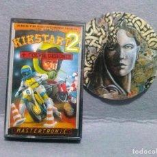 Videojuegos y Consolas: JUEGO AMSTRAD-SPECTRUM *KIKSTART 2 + COURSE DESIGNER* ..... BUEN ESTADO...(INGLES). Lote 134447218