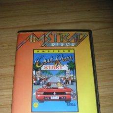Videojuegos y Consolas: JUEGO PARA AMSTRAD OUT RUN (ERBE, 1987) 1 DISKETTE . Lote 135375190