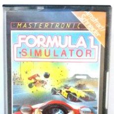 Videojuegos y Consolas: FORMULA 1 SIMULADOR / AMSTRAD / ORIGINAL / BUEN ESTADO. Lote 136526521
