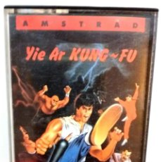 Videojuegos y Consolas: YIE AR KUNG-FU / AMSTRAD / ORIGINAL / BUEN ESTADO. Lote 136560898