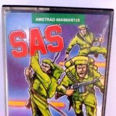 Videojuegos y Consolas: SAS-ASSAULT COURSE / AMSTRAD ORIGINAL / BUEN ESTADO. Lote 136564110