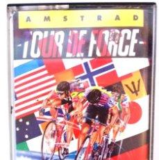 Videojuegos y Consolas: TOUR DE FORCE ORIGINAL / AMSTRAD / BUEN ESTADO. Lote 136566074